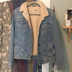 Topshop Moto Jean jacket